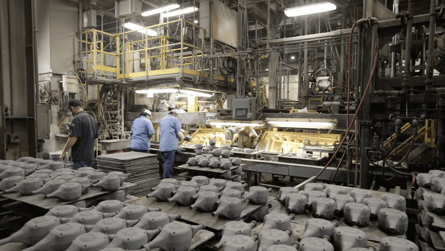 Automatic Molding - Fall River Foundry